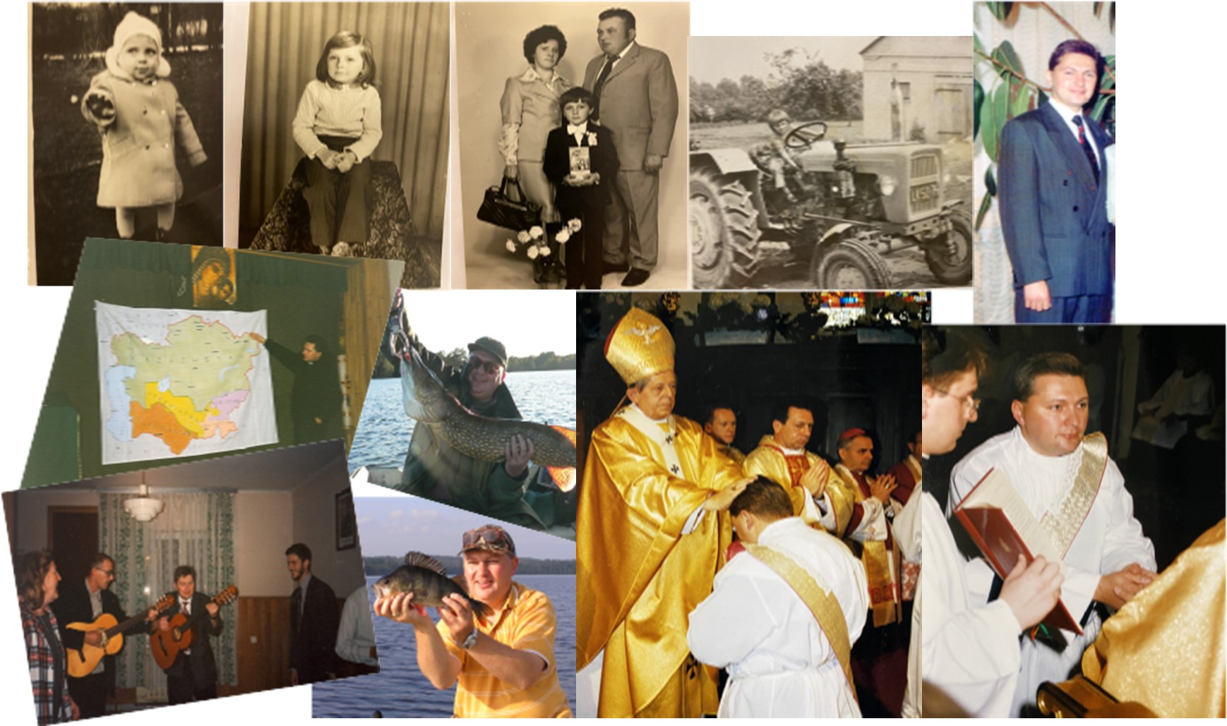 Collage 20ans ordination P Robert